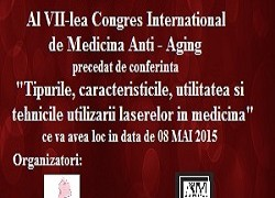 A VII-a editie a Congresului International de Medicina Anti-Aging.