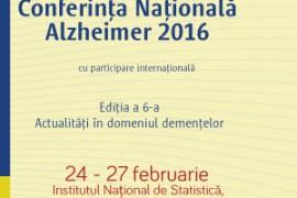 Conferința Națională Alzheimer 2016
