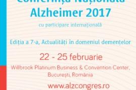 Conferința Națională Alzheimer 2017