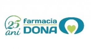 Rețeaua de Farmacii DONA sărbătoreşte 25 de ani
