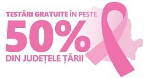 Testări gratuite pentru depistarea cancerului de sân