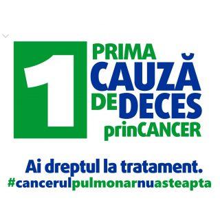 Diagnosticati la timp si cu acces la tratamentul potrivit, pacientii cu cancer pulmonar ar avea de cinci ori mai multe sanse de supravietuire*