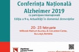 Conferința Națională Alzheimer 2019
