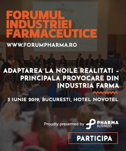 Cea de-a zecea ediție a Forumului Industriei Farmaceutice 2019 – o radiografie complexă a sistemului medical din România