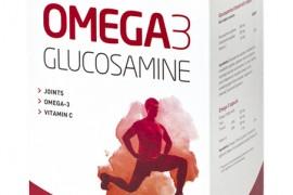 Combinaţia câştigătoare!  Omega-3 + Glucosamine & Chondroitin & Vitamina C: