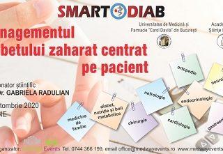 Continuă înscrierile la cea de-a doua ediție SMARTDIAB online
