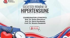 Congresul Societăţii Române de Hipertensiune Arterială  în premieră ONLINE!
