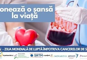 Ziua Mondiala de Lupta impotriva Cancerelor de Sange