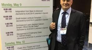 Dr. Andrei Filip, primul medic român invitat să susțină un curs în cadrul unui congres american de oftalmologie
