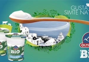 Olympus lansează primul iaurt bio cu specific grecesc de pe piața românească