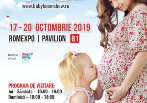 Se deschide Baby Boom Show – ediţia de toamnă! 17-20 octombrie, la Romexpo