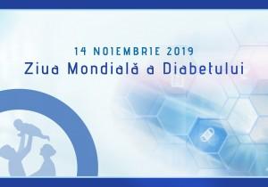 Mesajul Societății Române de Diabet, Nutriție și Boli Metabolice cu prilejul Zilei Mondiale a Diabetului 2019: 14 noiembrie