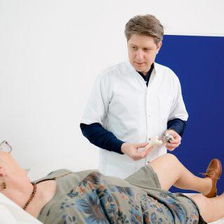Protezarea genunchiului are rezultat pe viață