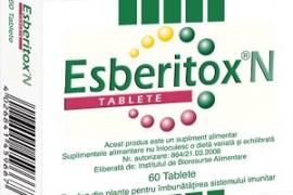 Esberitox – scurtează boala cu 3 zile