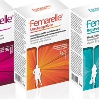 Nu se termină viața la menopauză! Femarelle aliatul care ameliorează simptomele