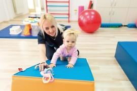 Ce facem într-o ședință de kinetoterapie pediatrică?