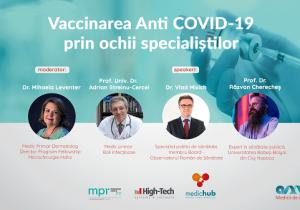 Vaccinarea anti COVID-19 prin ochii specialiștilor