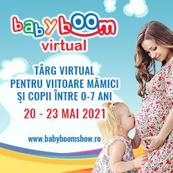 Astăzi se deschide Baby Boom Show Virtual