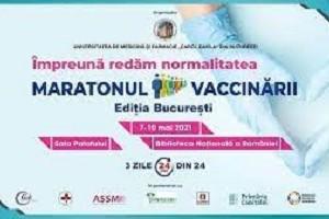 SIGURANTA MAXIMA la MARATONUL VACCINARII – Editia Bucuresti 07-09.05.2021