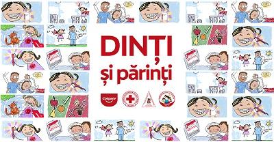 "Crucea Rosie Romana lanseaza ""DINTI si parinti"",  grup online de educatie stomatologica"