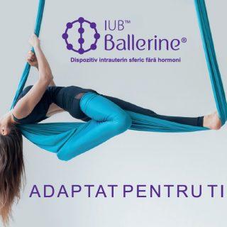 Steriletul IUB Ballerine® are forma de sfera si este non-hormonal – cea mai inovatoare metoda de contraceptie intrauterina este acum in Romania: